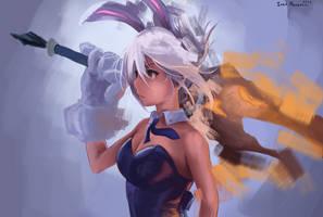 Battle Bunny by hujunisei