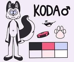 Koda - Reference Sheet by DorkyAF