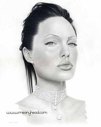 Angelina Jolie by little-faerie-bits