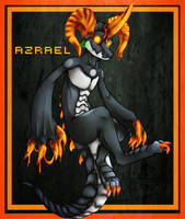 Azrael the Trihorn Drake! by WellHidden