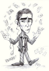 caricature by Gmeliss