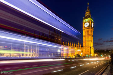 Big Ben with lights! by CyclicalCore