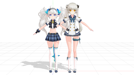 (MMD ELSWORD) Lu's ugly? by Cresitonia