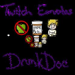 DrunkDoc Emotes by MrsMiroku