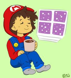 Mario Jammies by Kemonoko