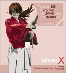Kenshin - by novrian