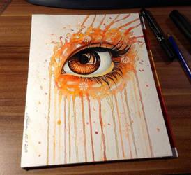 Orange Eye by DeadOceans