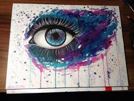 Galaxy Eye by DeadOceans