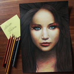 Katniss Everdeen by DeadOceans
