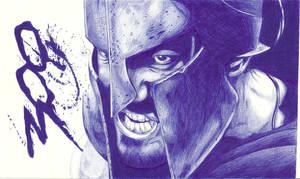 Leonidas to Bic by dark-gates