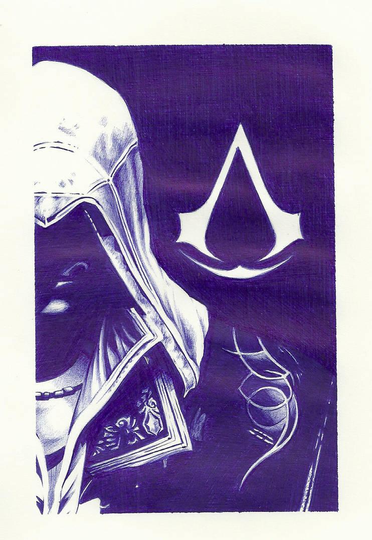 Ezio Auditore by dark-gates