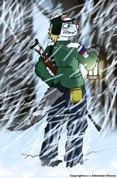 Lost In The Snow by ArtRock15