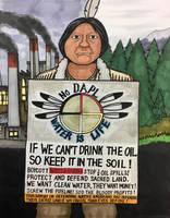 If we can't drink oil, keep it in the soil. by ArtRock15