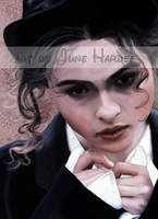 Helena Bonham Carter Colored by JunebugHardee