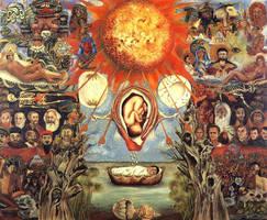 Frida Kahlo painting 2 by angesha