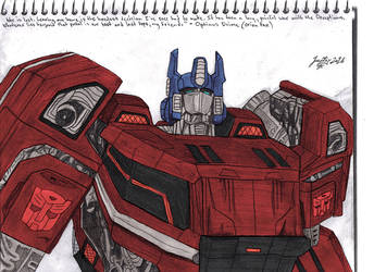 Optimus Prime (Orion Pax) by Pythagasaurus