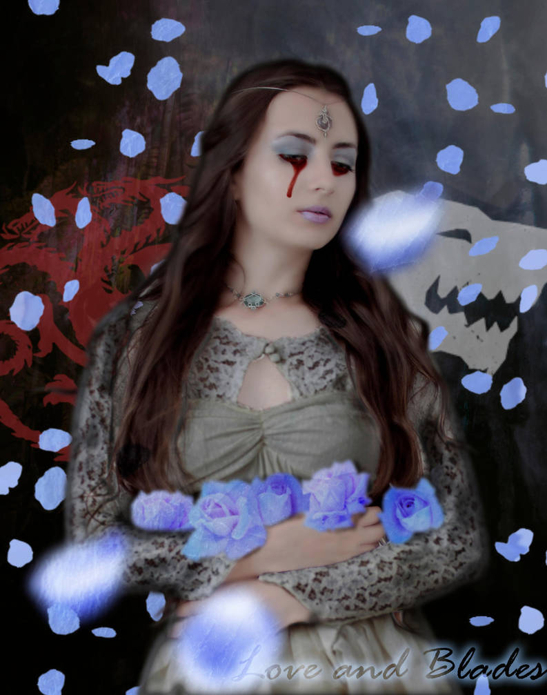 Lyanna Stark: Frost Roses by Love-and-Blades