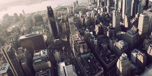 Manhattan's roofs by pol-b