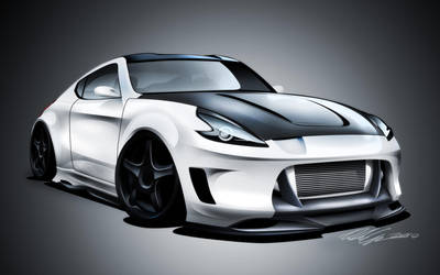 Nissan 370z by dazza-mate