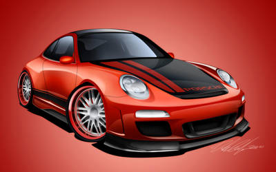 Porsche 911 gt3 by dazza-mate