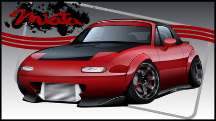 Mazda Miata by dazza-mate