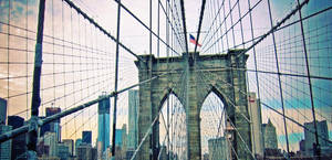 Brooklyn Bridge Skyline by emshore