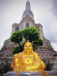 Golden Buddha by emshore