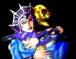 Skeletor and Evil-lyn by Vengerin