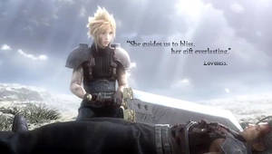 Cloud and Zack PSP Wallpaper by W6nd6r6r