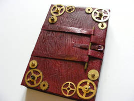 Clockwork Sketchbook by Sombrewood