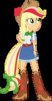 Rainbowfied Applejack by illumnious