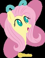 Simple Ponies Fluttershy by illumnious