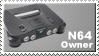 N64 Owner Stamp by JazzaX