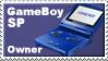 Gameboy Sp Owner Stamp by JazzaX