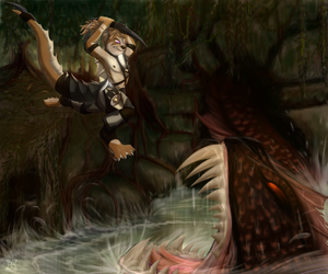 Deep in the jungle he attacks by JazzaX
