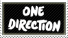 One Direction Stamp by Fruitily