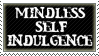 Mindless Self Indulgence Stamp by Fruitily