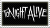 Tonight Alive Stamp by Fruitily