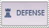 Overwatch Defense Stamp by Fruitily