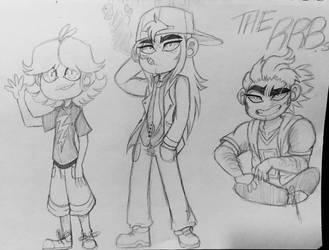 The Rowdyruff Boys T For Teen by FlakyFever