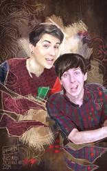 Dan and Phil by Guzzardi