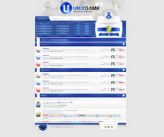 UnixGame PHPBB Layout by sheppard100