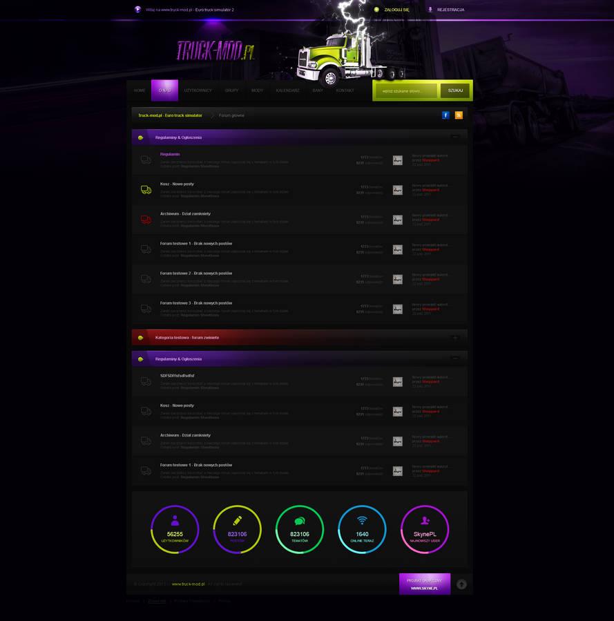 www.enyks.pl - Euro truck simulator layout forum by sheppard100