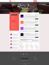 Flat design concernhouse project by enyks.pl by sheppard100