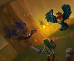 Link's Blacklist: Wizzrobe by DonRondo