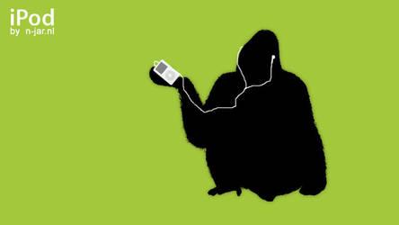 iPod Gorilla by N-Jar