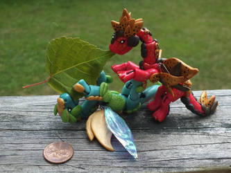 [FOR SALE]-BJD Dragons by Blitzava