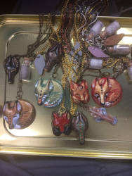 Resin-Some Pendants by Blitzava