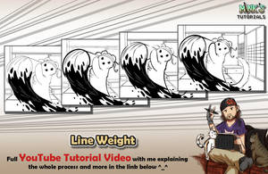 Line Weight - Mink's Tutorials (YouTube) by Minks-Art