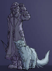 Finsterland - Detective Character Design by Minks-Art